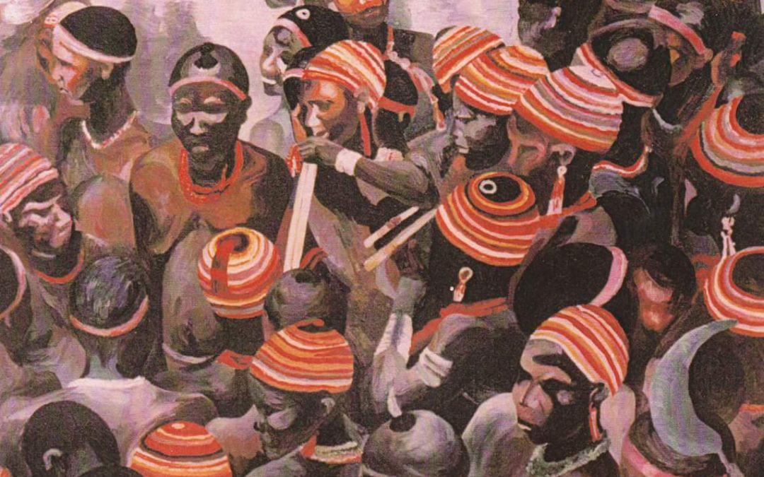 Foule Africaine