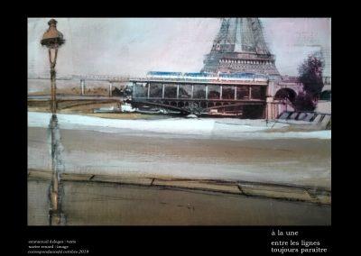 Paris-entre les lignes